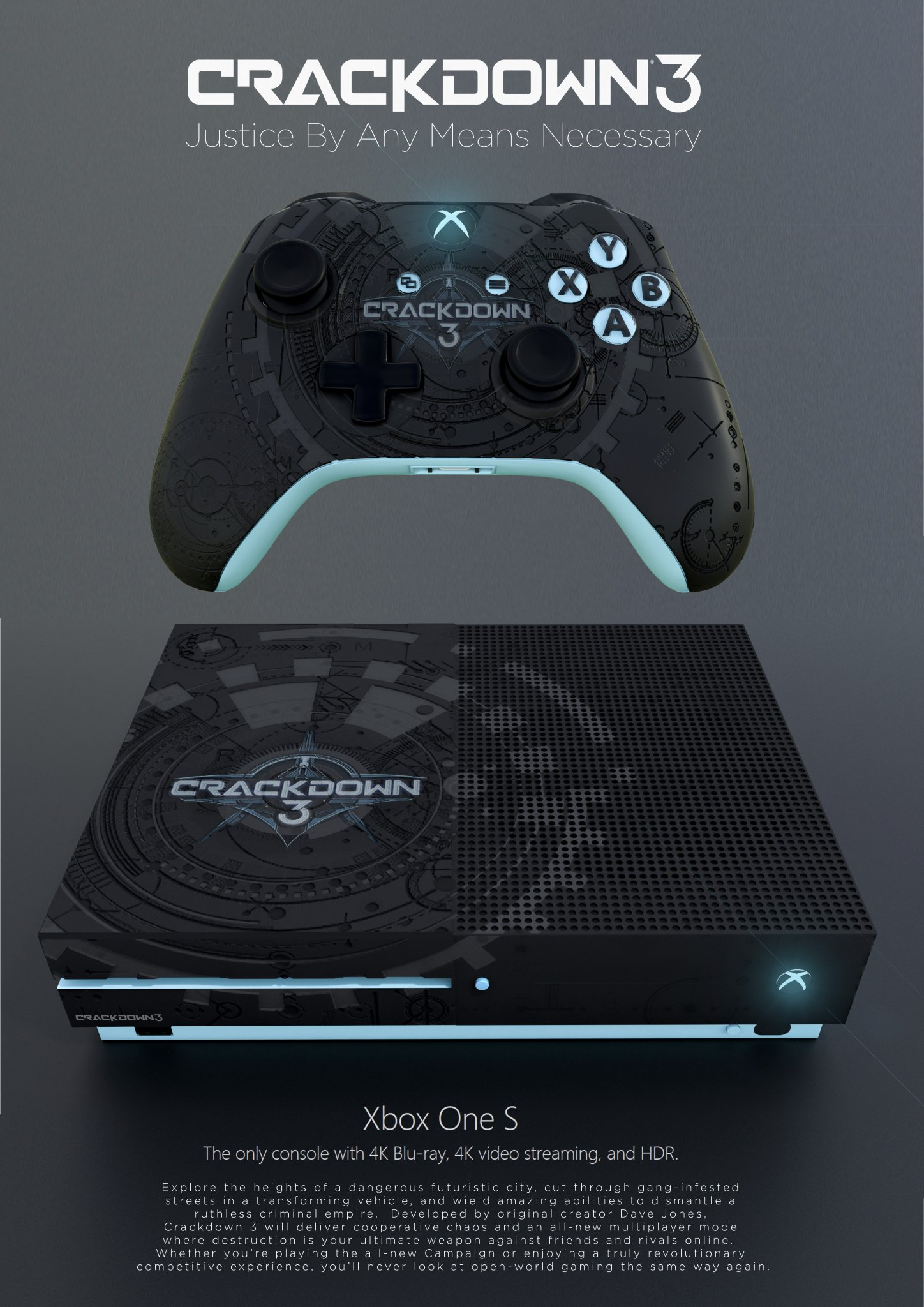 Check Out This Awesome Custom Made Crackdown 3 Controller ...