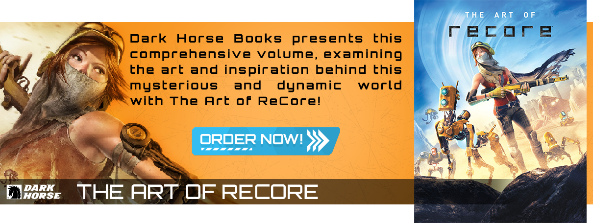 Dark Horse Books presents this comprehensive volume, examining the art and inspiration behind this mysterious and dynamic world with The Art of ReCore!